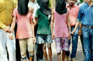 The Kalyan boy and his gang caught by cops