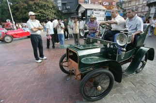 Vijay Mallya's 1903 Humber at the Vintage Car Rally