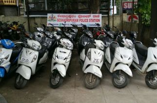 Recovered Bikes. Courtesy: Sandeep Patil