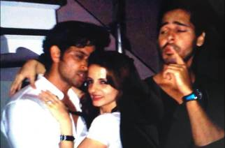 More pictures from the party that Hrithik and Kangana attended in 2010