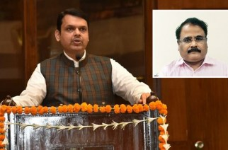 Fadnavis informed both houses of the state legislature that Mopalwar will not continue in his post till the probe is over (Devendra Fadnavis, Inset: Radheyshyam Mopalwar)
