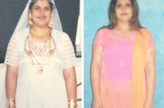Actress Zarine Khan posted a picture of her heavier self on Instagram