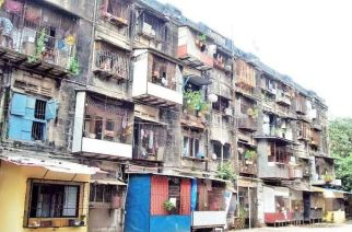 The BDD chawls were built by the British Government in 1920 to house textile mill workers (Picture Courtesy: Subhash.T)
