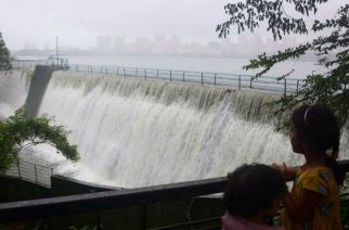 Tulsi lake overflowing