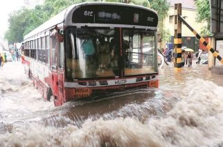 Santacruz station of Mumbai IMD recorded 163 mm of rainfall, while Colaba registered 107 mm of showers in last 24-hours (Representational Image)