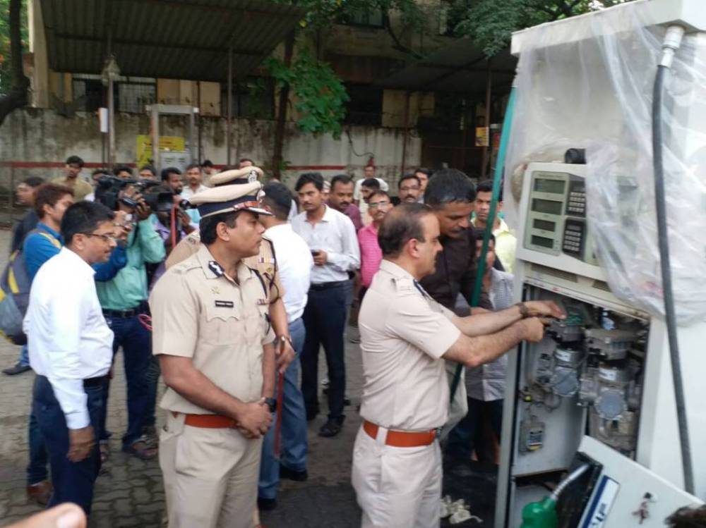 Petrol Pump Scam: Cops seal 2 pumps in Thane for dispensing less fuel, arrest owners