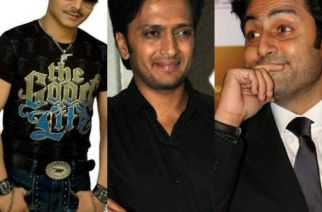 KRK, Riteish Deshmukh and Abhishek Bachchan