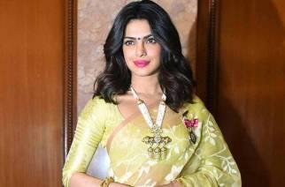 Priyanka Chopra at Rashtrapati Bhavan.
