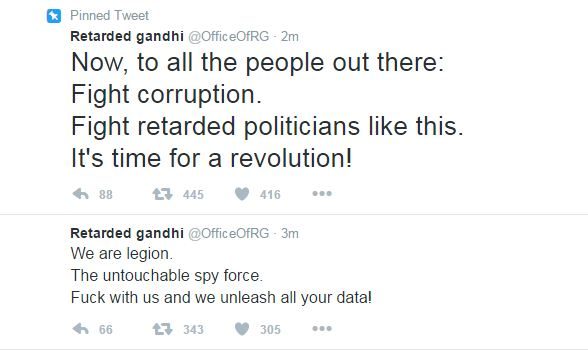 Rahul Gandhi's Twitter account hacked & 'abused', Congress cries conspiracy