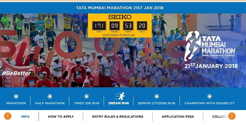 Registrations open for 2018 Mumbai Marathon, Tata Group to be title sponsor 1