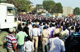 Rumour about dumper killing toddler leads to chaos in Govandi, police resort to lathicharge