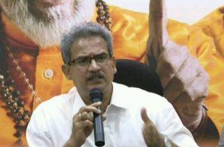 Rajya Sabha MP Anil Desai from Shiv Sena