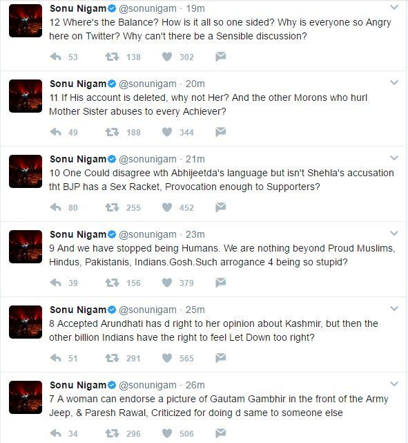 Sonu Nigam quits Twitter for good, explains why in 24 tweets 3