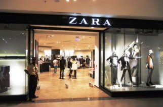 Zara store in Mumbai