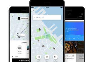 The new Uber app