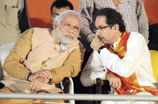Prime Minister Narendra Modi and Sena Chief Uddhav Thackeray