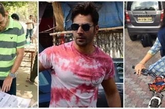 While Sanjeev Kapoor and Varun Dhawan were unable to cast their votes, Shaina NC was able to exercise her right later in the day