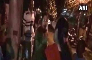 KDMC corporators Shital Bhandari and Madhuri Kale got into an altercation over ownership of development work (screengrab from the video)