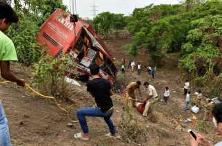 A bus accident on the Mumbai-Pune expressway that had resulted in the death of 17 passengers
