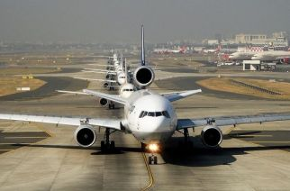 Mumbai Airport has become the world's busiest single-runway airport. Picture Courtesy: Plane Spotters India