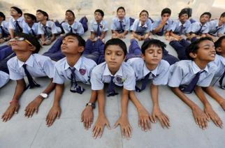 The Supreme Court dismissed two pleas seeking direction to make yoga compulsory in schools for students from classes 1 to 8 (Representational Image. Courtesy: REUTERS/Amit Dave)