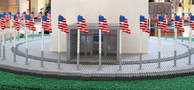 american flag lego