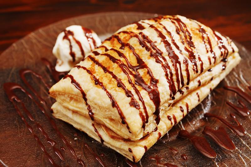 filo pastry pastries chocolava chocolate plano profile