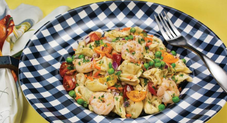 Shrimp, Cheese Tortellini, Plano Profile