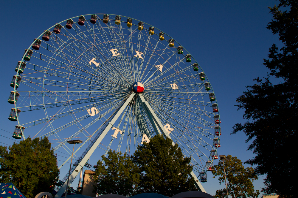 ferris wheel state fair of texas