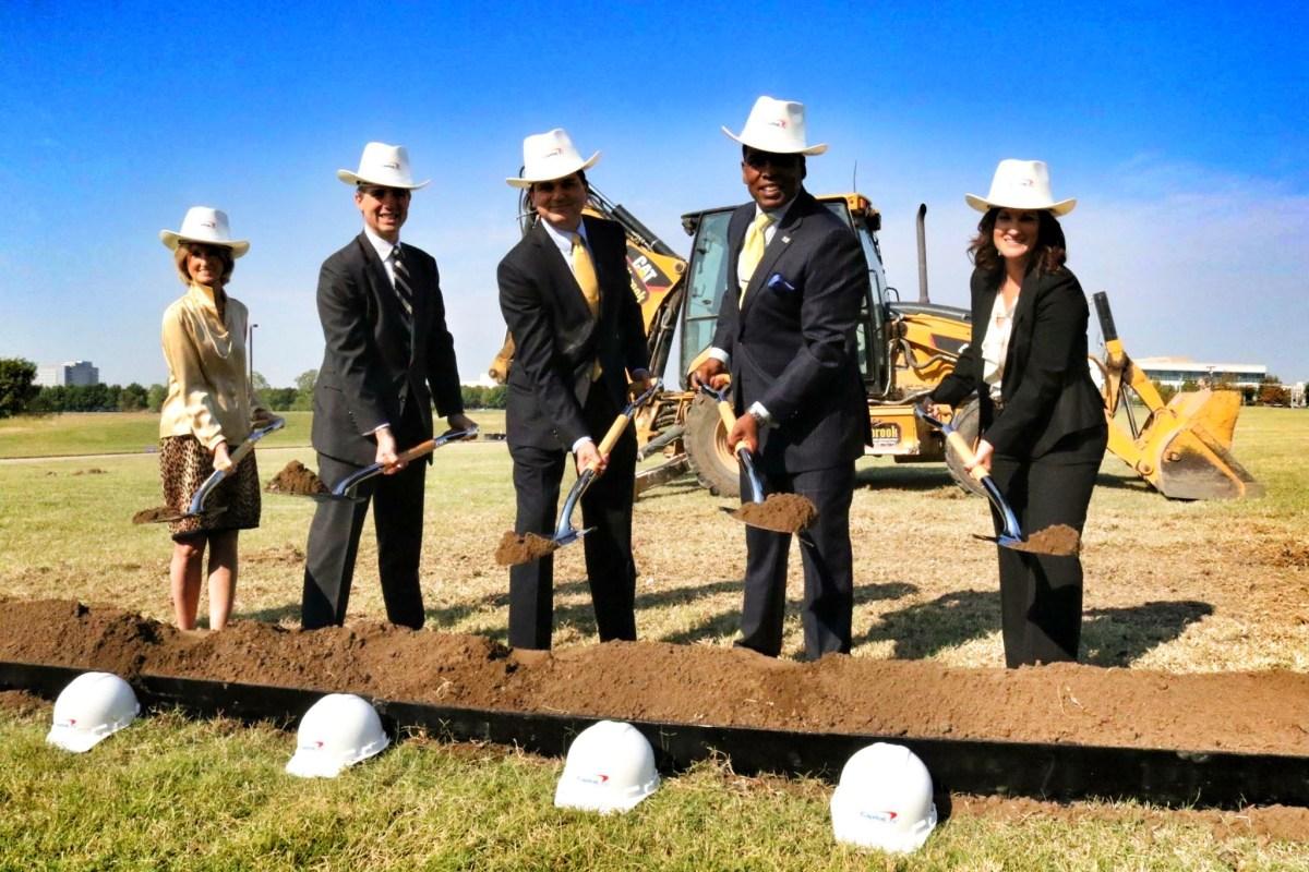 Capital One Ground Breaking Plano_Texas