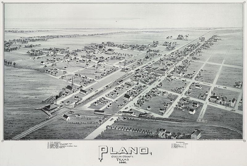 downtown Plano Texas