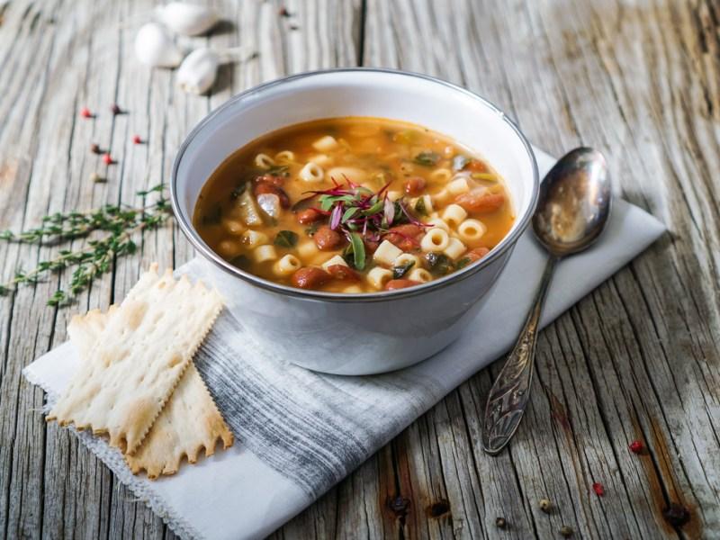recipe minestrone soup kale chicken