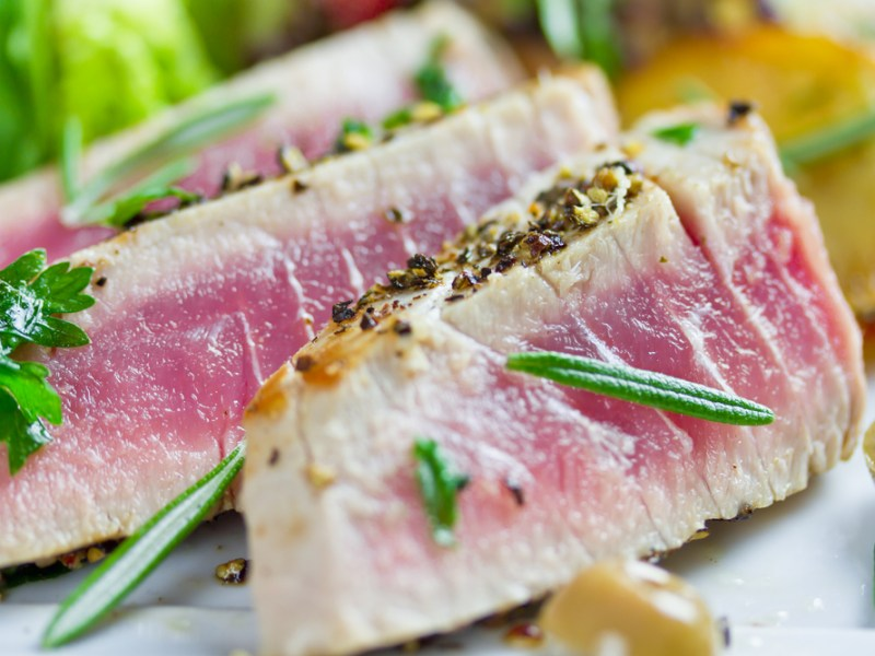Recipe marinated grilled tuna
