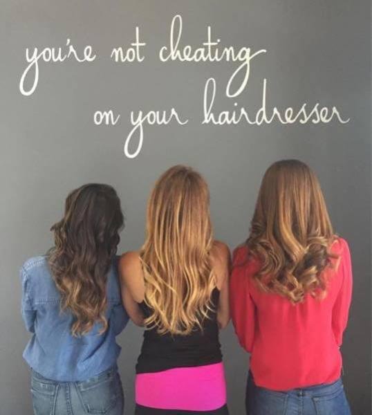 blo blow dry salon quote hair