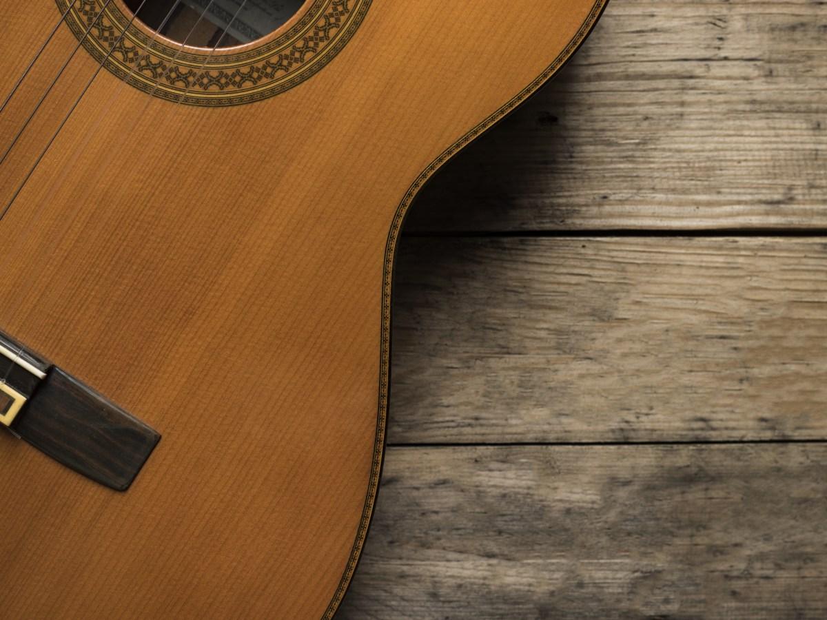 guitar wood solo intstrument