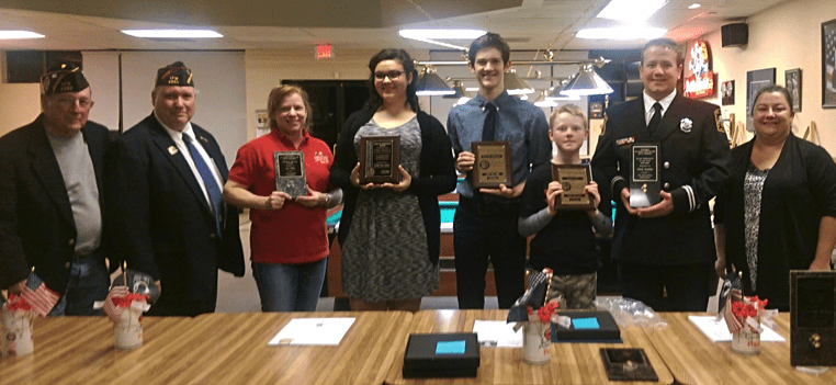 Voice of Democracy and Patriot's Pen Award Winners