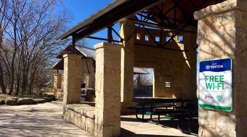 Free Wi-Fi at Plano parks and rec centers