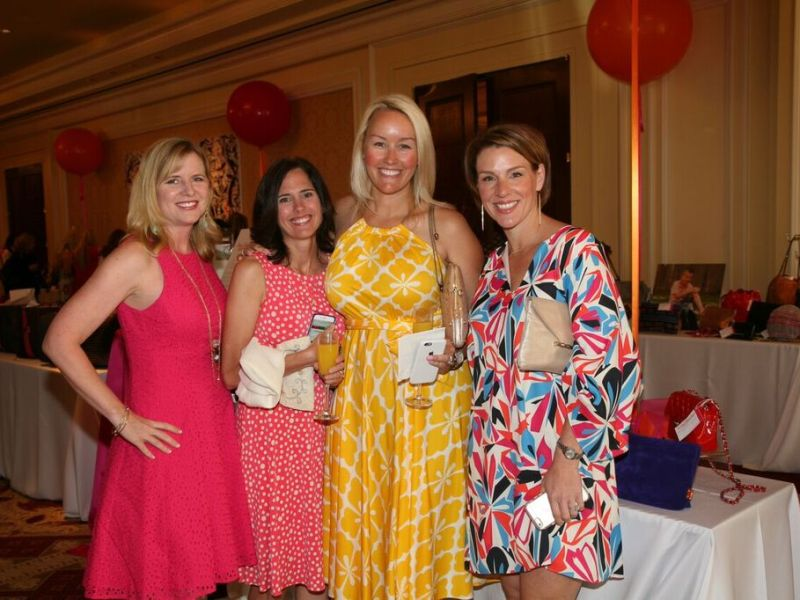 heroes for children tracie reiter, kris morton, julia sponsel and molly carter