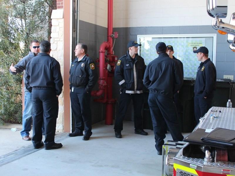 Plano firemen rescue department