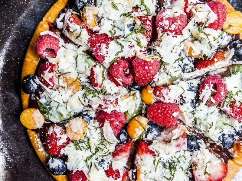 recipe dessert pizza