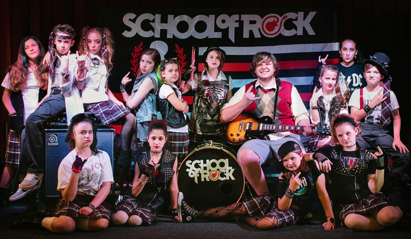 Frisco Youth Theatre School of Rock Cast