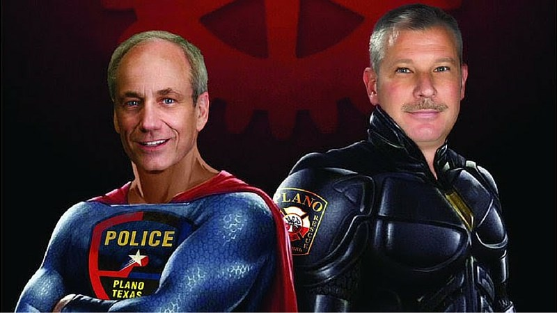 Plano police and fire battle of the badges blood drives