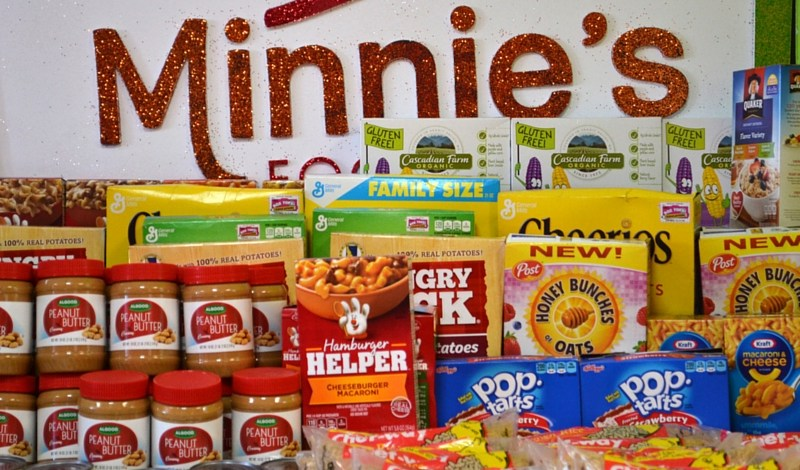 minnie's food pantry Plano non profit