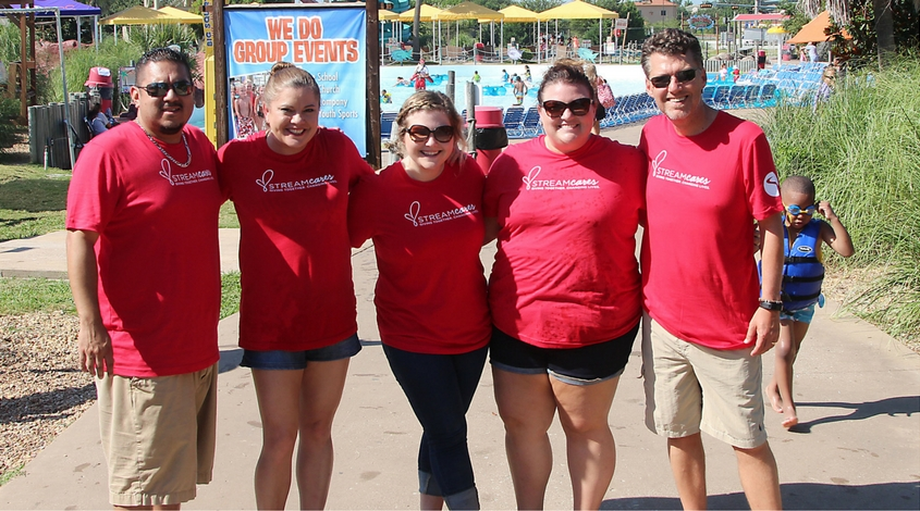Stream Cares Hawaiian Falls Day with Hope Supply Co for kids in need