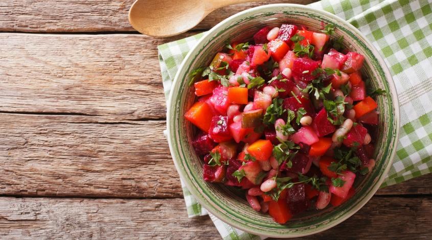 Harvest Beet & Onion Salad