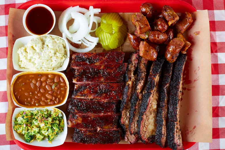 heaven is a place called hutchins bbq, which just re-opened in mckinney!