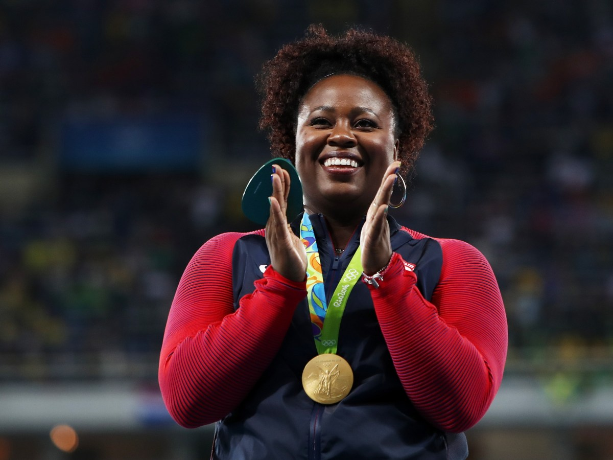 Athletics - Olympics: Day 8-Michelle-Carter-Shot-put