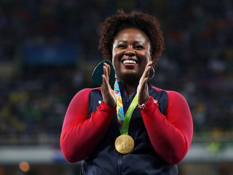 Athletics - Olympics: Day 8-Michelle-Carter-Shot-put