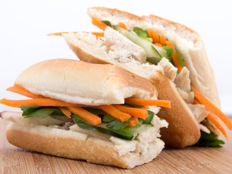 Rotisserie Chicken Banh Mi