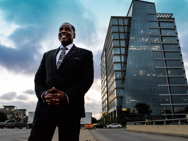 Plano Mayor Harry LaRosiliere. Photo by Stephanie Tann